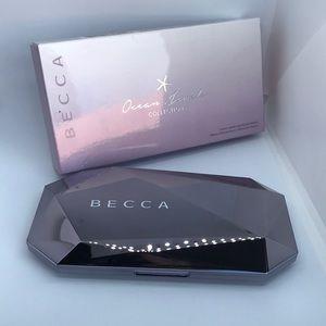 Becca Ocean Jewels highlighter palette